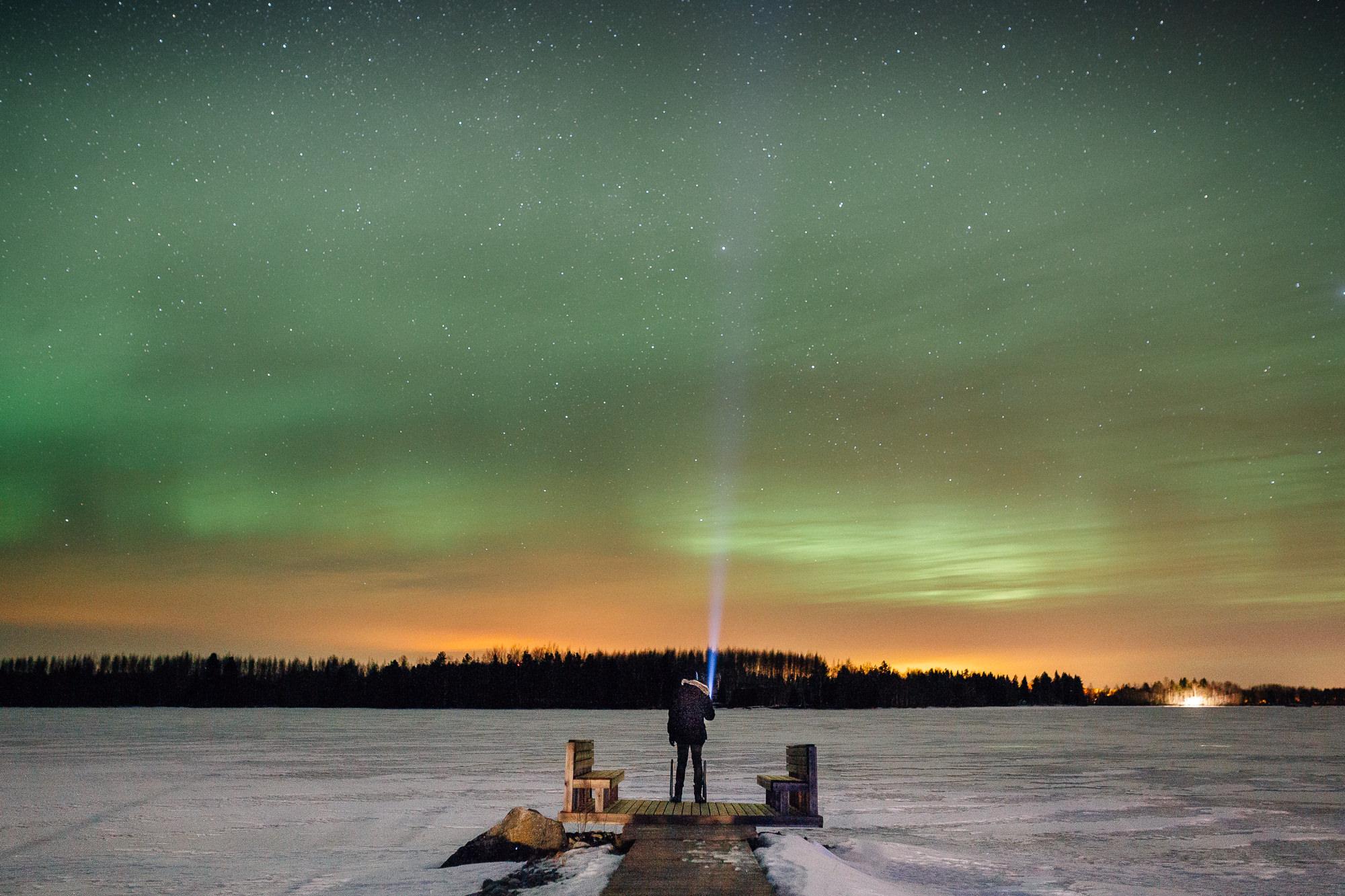 Finland Northern Lights