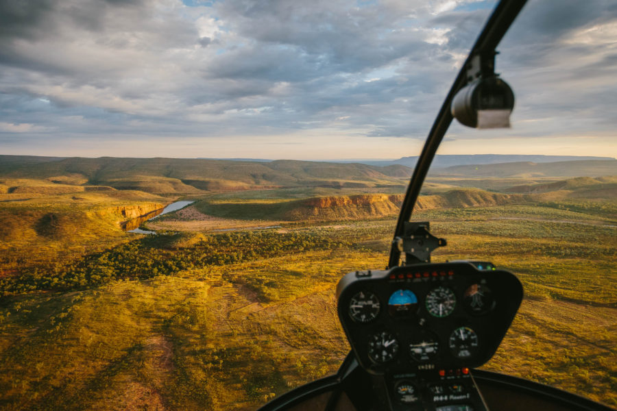 A bird's eye view of the Kimberley